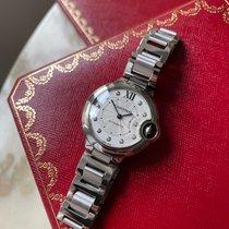 Cartier Ballon Bleu 33mm Acier 33mm Argent Romains France, PARIS