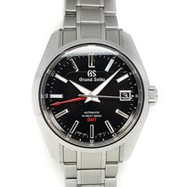 Seiko Steel Automatic Black No numerals 40mm new Grand Seiko