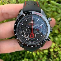 Omega Speedmaster Professional Moonwatch Ceramic 44.25mm Black No numerals United States of America, California, Los Angeles