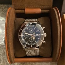 Breitling Superocean Heritage Chronograph Steel 46mm Black No numerals United States of America, Tennesse, Nashville