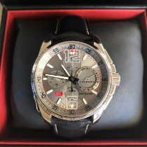 Chopard pre-owned Automatic 44mm Silver Sapphire crystal