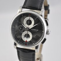 Montblanc new Automatic Display back Small seconds Guilloché dial 43mm Steel Sapphire crystal