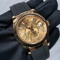 Rolex Желтое золото 42mm Автоподзавод 326238-0007 новые