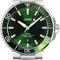 Oris 01 733 7730 4157-07 8 24 05PEB Steel 2021 Aquis Date 43.5mm new United States of America, New York, Airmont