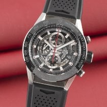 TAG Heuer CAR2A1Z-0 Ceramic 2016 Carrera Calibre HEUER 01 45mm pre-owned