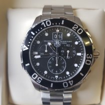 TAG Heuer Aquaracer 300M neu Quarz Chronograph Uhr mit Original-Box CAN1010.BA0821