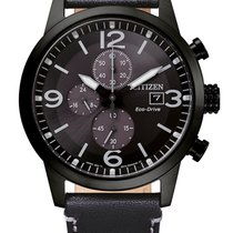 Citizen Steel 43mm Quartz CA0745-29E new