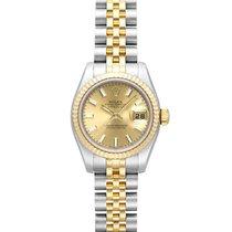 Rolex Lady-Datejust 179173 Πολύ καλό Χρυσός / Ατσάλι 26mm Αυτόματη