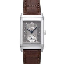 Jaeger-LeCoultre Platinum Manual winding Grey 42mm pre-owned Reverso (submodel)