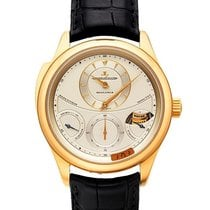 Jaeger-LeCoultre Master Grande Tradition Gelbgold 44mm Silber