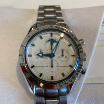 Omega Speedmaster Professional Moonwatch Moonphase Acier 45mm Blanc France, Montesson