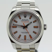 Rolex Milgauss Acero 40mm Blanco Sin cifras España, Granollers