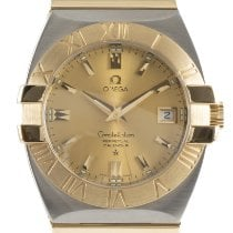 Omega Constellation Double Eagle Gold/Steel 38mm Gold