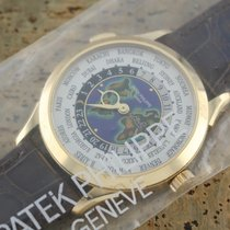 Patek Philippe World Time Yellow gold 38.5mm Silver