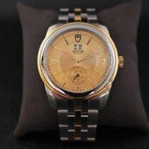 Tudor Glamour Double Date Ouro/Aço 42mm Ouro Sem números