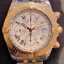Breitling Chronomat Evolution Acero y oro 44mm Blanco Romanos