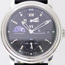 Blancpain Léman 2160.1130.53 Very good Steel 38mm Automatic