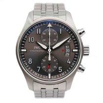 IWC IW387804 Acier 2017 Pilot Spitfire Chronograph 43mm occasion
