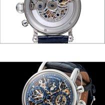 Chronoswiss Opus Steel 38mm Silver Arabic numerals