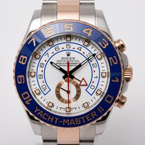 Rolex Yacht-Master II Rose gold 44mm White No numerals United Kingdom, Radlett