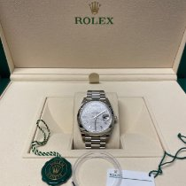 Rolex Day-Date 40 Platinum 40mm Grey No numerals United Kingdom, london