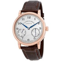 A. Lange & Söhne Red gold Manual winding Silver Arabic numerals 39mm new 1815