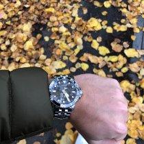 Tissot Seastar 1000 gebraucht 43mm Schwarz Datum Stahl