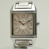 Jaeger-LeCoultre Reverso Squadra Lady Stahl Silber