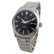 Omega Seamaster Aqua Terra pre-owned 39.2mm Black Date Steel