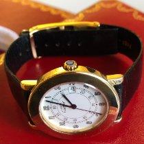 Cartier Ronde Solo de Cartier Yellow gold 33mm Champagne Roman numerals