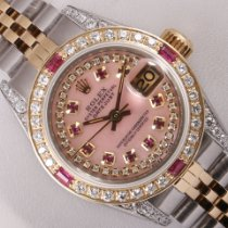 Rolex Lady-Datejust Steel 26mm Pink