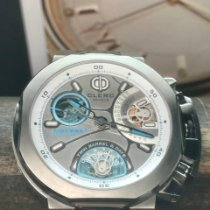 Clerc pre-owned 44mm Silver 10 ATM