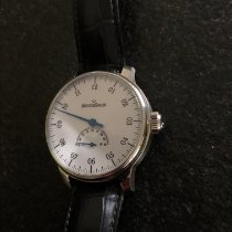Meistersinger Unomatik pre-owned 43mm White Leather