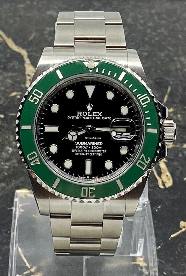 Rolex Submariner Date 126610lv Starbucks 2020 новые