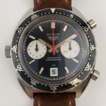 Heuer 1163 Good Steel 42mm Automatic Finland, ESPOO