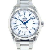 Omega Titanium Automatic White 43mm pre-owned Seamaster Aqua Terra