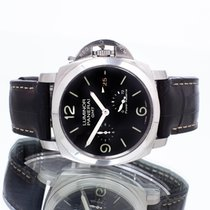 Panerai Luminor 1950 3 Days GMT Power Reserve Automatic Acier 44mm Noir
