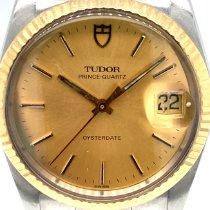 Tudor Prince Oysterdate Acél 36mm Arany Számjegyek nélkül