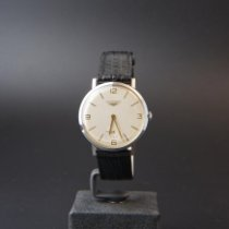 Longines 7855-1 Bueno Acero 35mm Cuerda manual