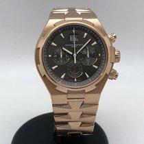 Vacheron Constantin Overseas Chronograph Oro rosa 42mm Marrón Sin cifras