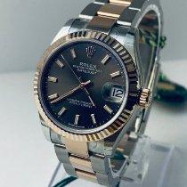 Rolex Datejust Gold/Stahl 31mm Braun Keine Ziffern Deutschland, Karlsruhe
