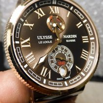 Ulysse Nardin Marine Chronometer Manufacture new Automatic Watch with original box and original papers 1185-126