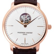 Frederique Constant Slimline Heart Beat Automatic Rose gold 40mm