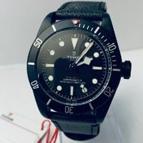 Tudor Black Bay Dark Aço 41mm Preto Sem números