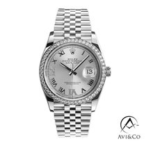 Rolex Datejust Steel 36mm Silver Roman numerals United States of America, New York, New York