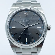 Rolex Oyster Perpetual 39 occasion 39mm Argent Acier