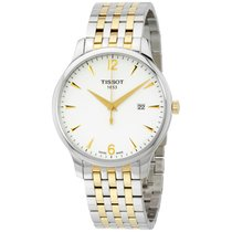 Tissot Tradition Steel 42mm White Arabic numerals United States of America, Massachusetts, Boston