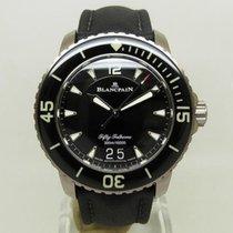 블랑팡 티타늄 45mm 자동 5050-12B30-B52A 중고시계