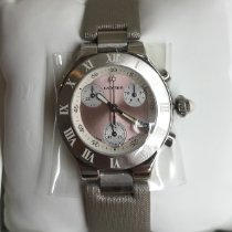 Cartier 21 Chronoscaph Steel 36mm Silver Roman numerals United States of America, Michigan, Ann Arbor