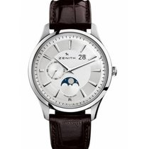 Zenith Captain Moonphase 03.2140.691/02.C498 New Steel 27.5mm Automatic